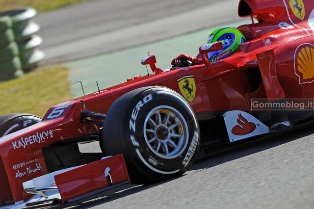 Formula 1 2012: I pneumatici Pirelli P Zero F1 protagonisti dei test a Jerez