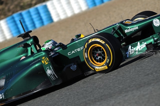 Formula 1 2012: I pneumatici Pirelli P Zero F1 protagonisti dei test a Jerez 4