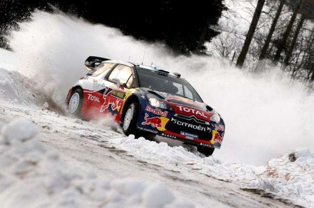 Rally Svezia 2012: il Video con l'incidente di Loeb e i più bei passaggi di ieri