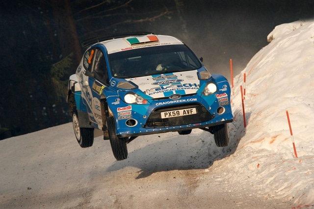 Rally di Svezia 2012: Il Video con i Salti più belli 12