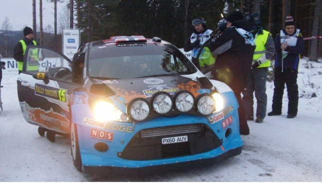 Rally Svezia 2012: Incidente per Loeb e Latvala in testa al rally