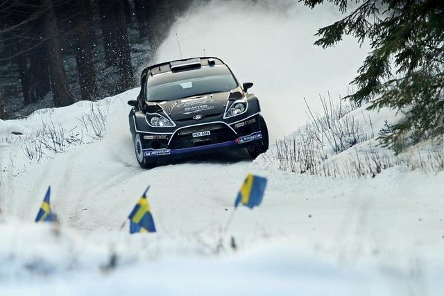 Rally di Svezia 2012: Mikko Hirvonen in testa dopo la PS5