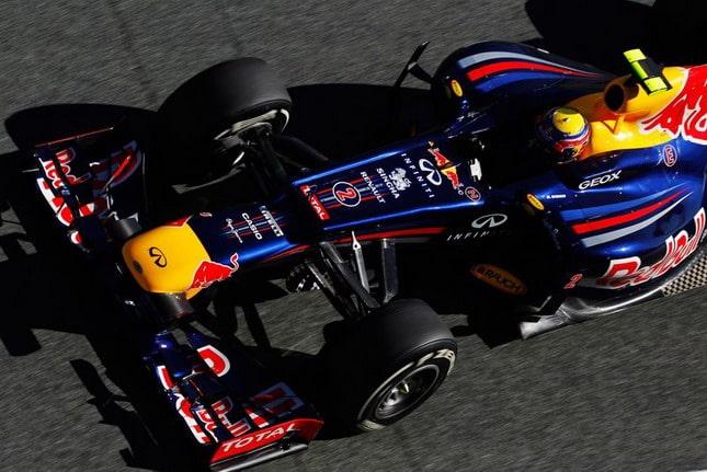 Formula 1 2012: La nuova Red Bull RB8 va proprio forte. Lo dice Mark Webber