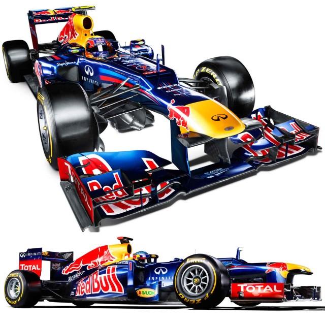 Formula 1 2012: la Red Bull RB8 e … i triangoli pericolosi