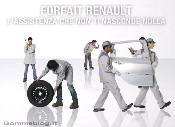 Renault Forfait Inverno Sicurezza: manutenzione e ricambi scontati