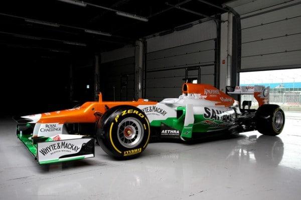 Sahara Force India VJM05: svelata la nuova monoposto F1 2012