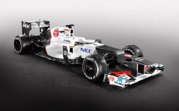 Sauber C31: nuova monoposto pronta per il Campionato di Formula 1 F1 2012 2