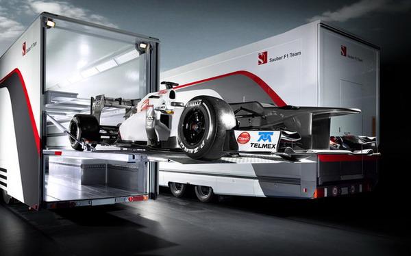 Sauber C31: nuova monoposto pronta per il Campionato di Formula 1 F1 2012
