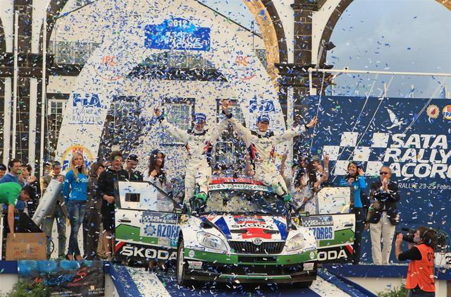 Rally IRC 2012: Andreas Mikkelsen e Skoda trionfano alle Azzorre 2