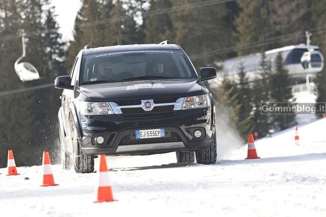 Test Pneumatici invernali 2012 contro gomme estive + catene. Chi vincerà?