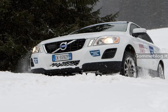 Test pneumatici invernali 2012: le termiche frenano oltre 45 metri prima delle estive