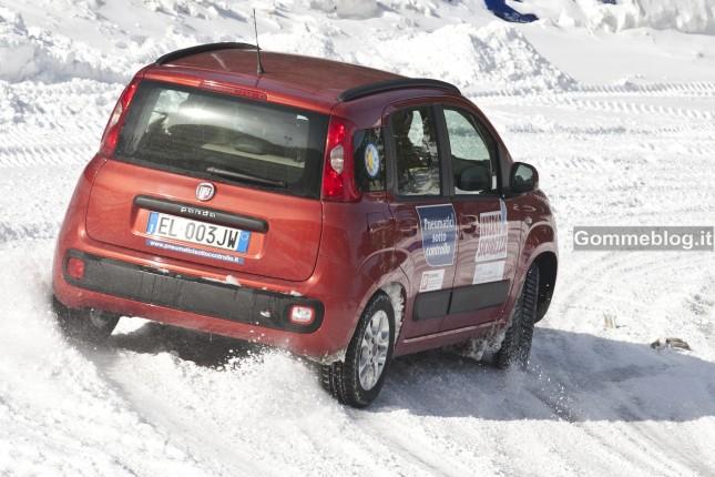 Test Pneumatici invernali 2012: equipaggiamento misto all'anteriore