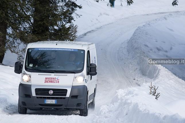Test Pneumatici invernali 2012: termiche fondamentali per i Veicoli Commerciali
