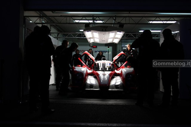 Toyota: 1° Test Endurance per la nuova TS030 Hybrid 3