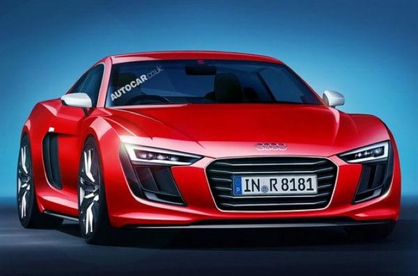 Nuova Audi R8: più leggera, più potente e più performante