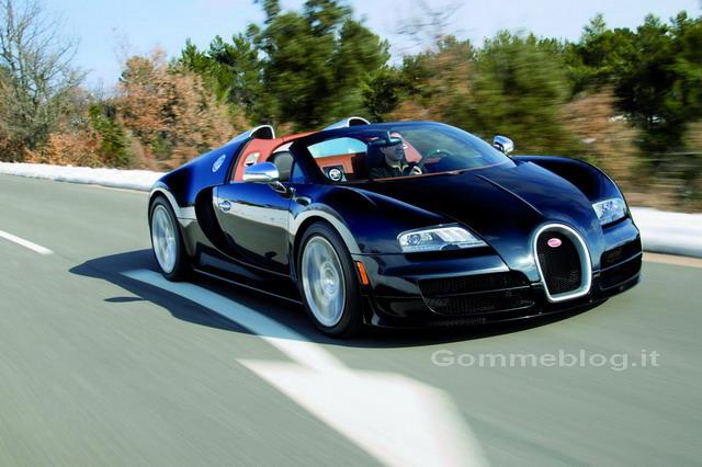 Bugatti Veyron Grand Sport Vitesse: online le prime immagini ufficiali