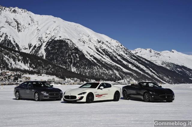 Con Maserati sulla neve per il Master Maserati Ice & Snow 2012 2