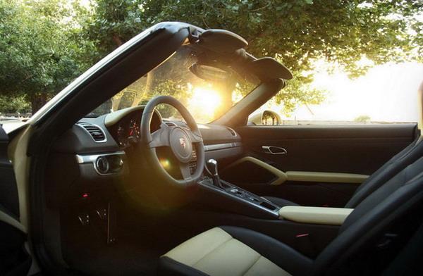 Nuova Boxster: la roadster Porsche con motore centrale 1