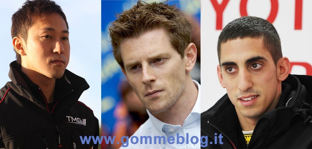 Toyota: ecco i piloti che correranno la 24 Ore di le Mans 2012