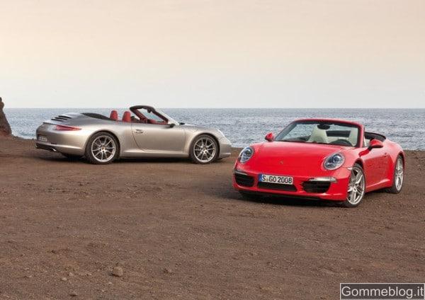 Porsche 911 Carrera Cabriolet e la capote di nuova concezione
