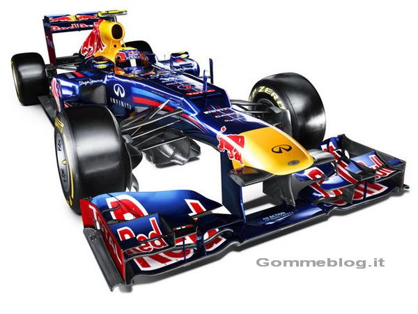 Red Bull RB8: arriva l'erede della monoposto Campione Formula 1 F1 2011
