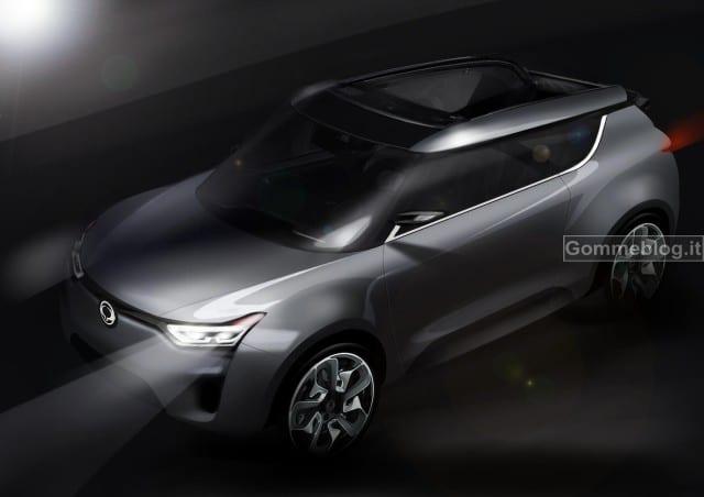 SsangYong: al Salone di Ginevra 2012 con il nuovo Concept XIV-2 Convertible