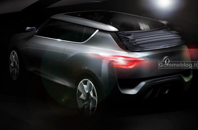 SsangYong: al Salone di Ginevra 2012 con il nuovo Concept XIV-2 Convertible 2