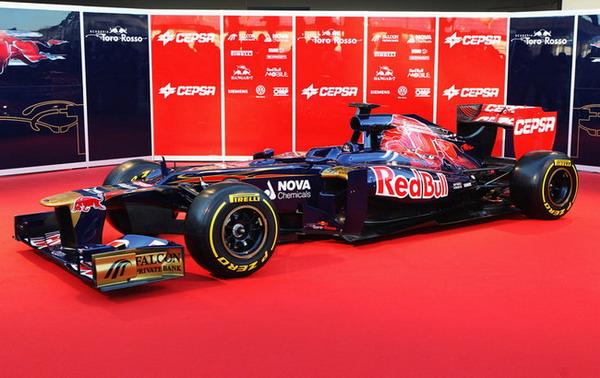 Formula 1 2012: presentata la Toro Rosso STR7