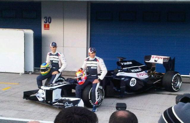 Formula 1 2012: Williams tiene duro 1