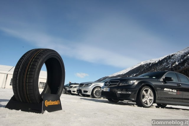 Gomme e Pneumatici Continental partner di AMG Driving Academy