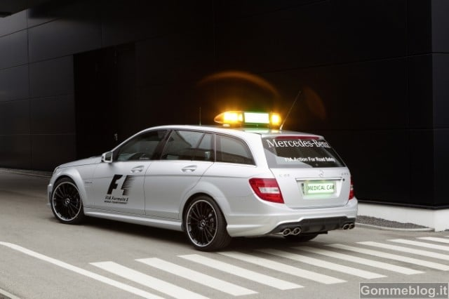 Formula 1: Performance e Tecnica delle Mercedes AMG Safety Car e Medical Car F1 4