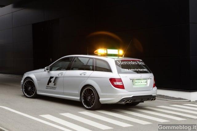Formula 1: Performance e Tecnica delle Mercedes AMG Safety Car e Medical Car F1 4