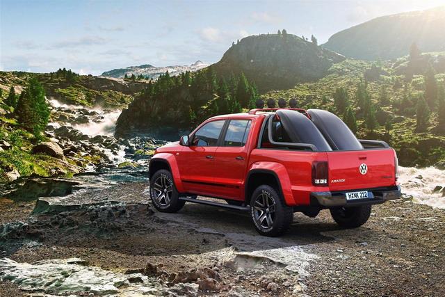 Volkswagen Amarok Canyon: uno studio per gli amanti degli sport outdoor 2