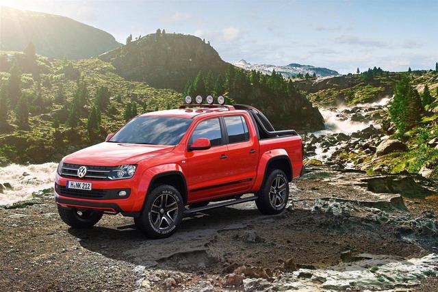 Volkswagen Amarok Canyon: uno studio per gli amanti degli sport outdoor