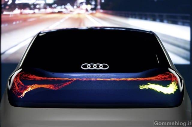 Audi: Tecnologia OLED nei fari auto del futuro