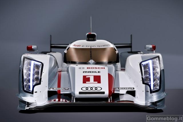 Audi alla 24 Ore di Le Mans 2012: due R18 e-tron quattro e due R18 ultra 5