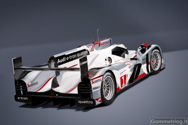 Audi alla 24 Ore di Le Mans 2012: due R18 e-tron quattro e due R18 ultra 3