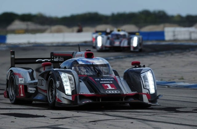 Audi e Michelin in Pole nella 12 Ore di Sebring
