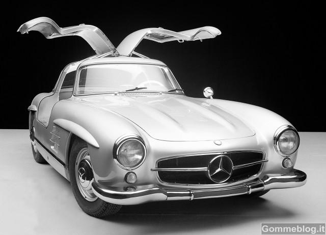 Supercar Storiche: Mercedes-Benz 300 SL da corsa serie W 194 (1952-1953) 3