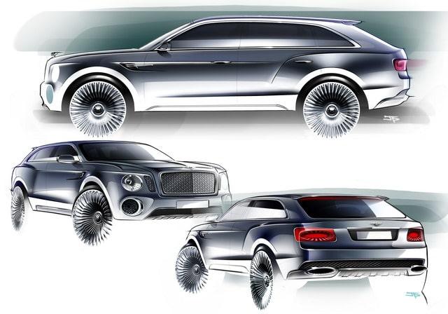 Bentley EXP 9 F: concept suv destinato ad esaltare lusso e prestazioni 2