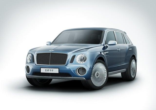 Bentley EXP 9 F: concept suv destinato ad esaltare lusso e prestazioni 3