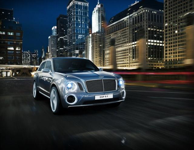 Bentley EXP 9 F: concept suv destinato ad esaltare lusso e prestazioni