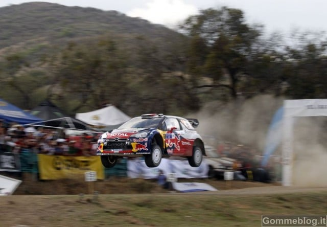 Rally Messico 2012: Video Onboard con Loeb e Hirvonen (Citroen DS3 WRC – Michelin)