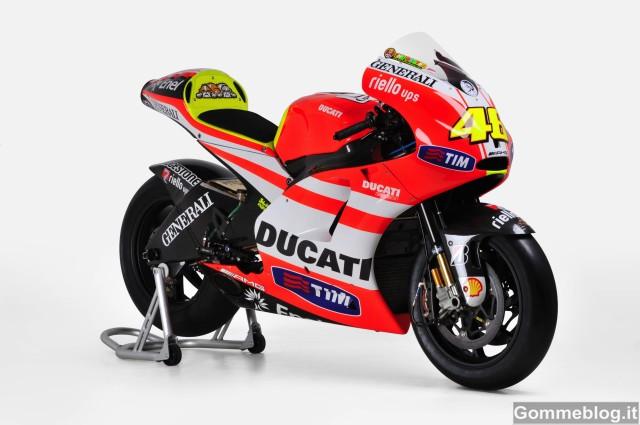 MotoGP: all'asta una Ducati Desmosedici GP10 e una GP11
