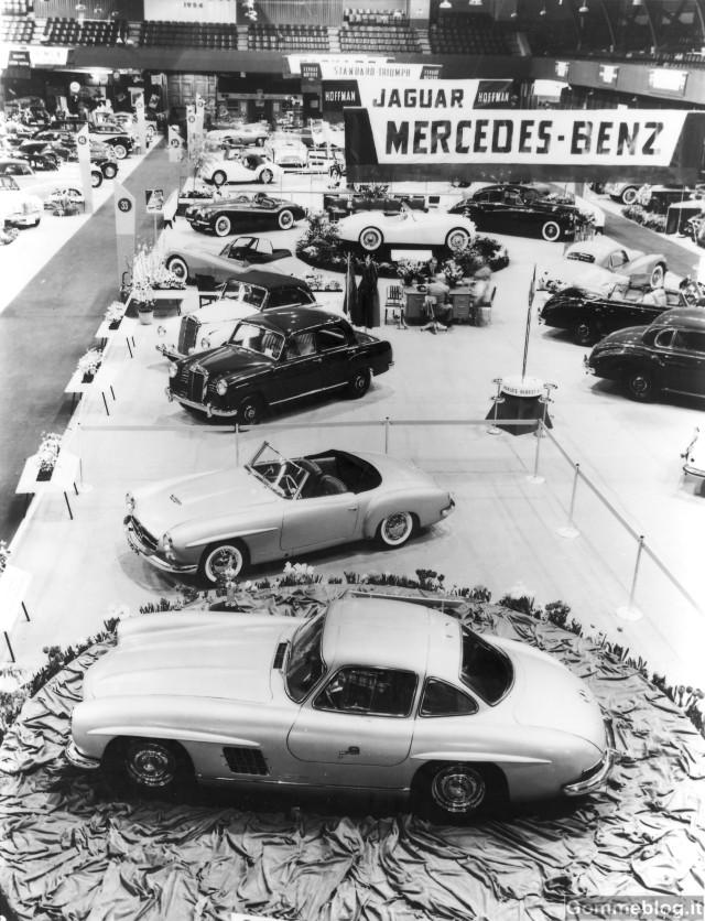 Supercar Storiche: Mercedes-Benz 300 SL da corsa serie W 194 (1952-1953) 2