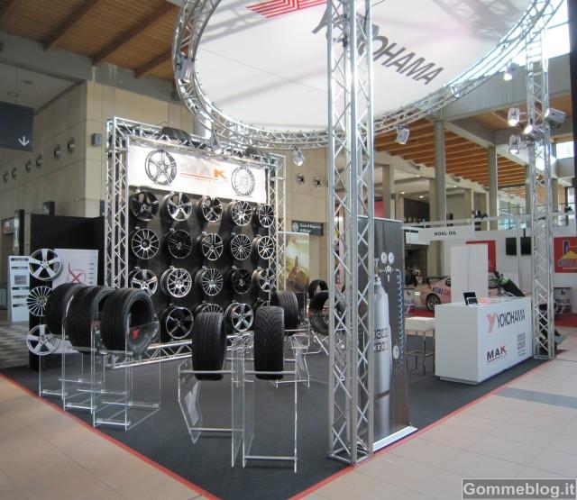 My Special Car Show 2012: Yokohama e MAK presenti con gomme e cerchi