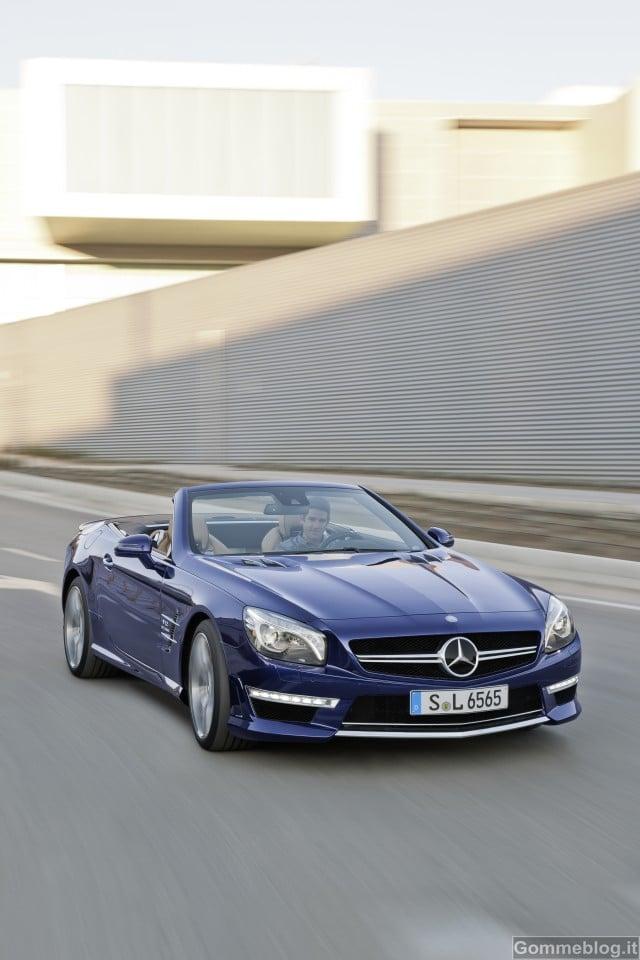 Nuova Mercedes-Benz SL 65 AMG: 630 CV e 1000 Nm per prestazioni superlative 2