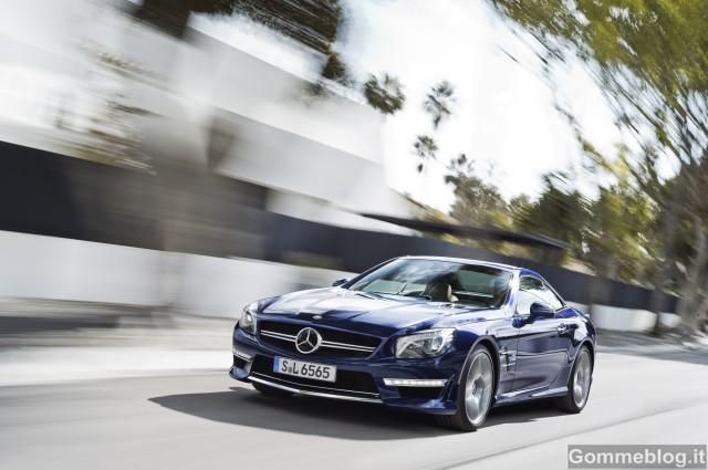Nuova Mercedes-Benz SL 65 AMG: 630 CV e 1000 Nm per prestazioni superlative