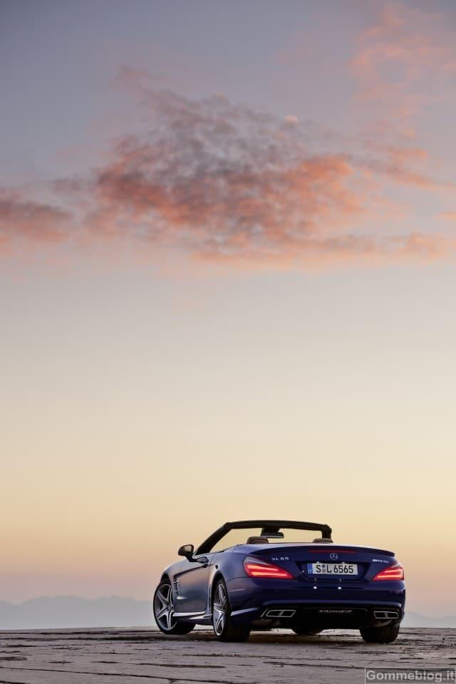 Nuova Mercedes-Benz SL 65 AMG: 630 CV e 1000 Nm per prestazioni superlative 3