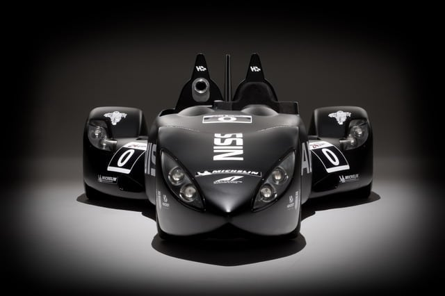 Nissan Deltawing: avveniristico concept per la 24 ore di Le Mans 2012